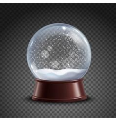 Snow Globe Composition vector image