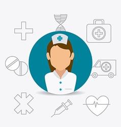 Medical healtcare design vector image