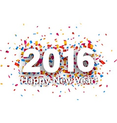 2016 new year vector