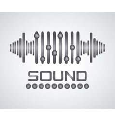 Sound icon design vector