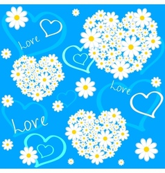 flower love vector image
