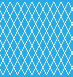Rhombus on blue background vector
