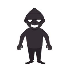Robber thief criminal vector