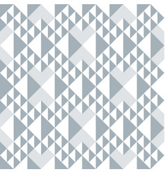 Geometric abstract seamless pattern triangle vector