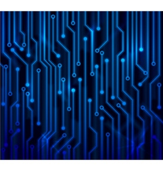 Abstract circuit board vector