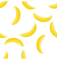 Banana fruit pattern vector