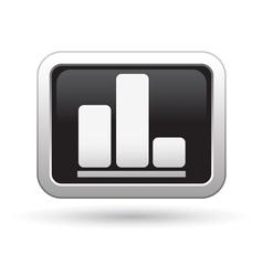 Business diagram icon vector image vector image