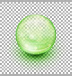 Transparent soft gel capsule eps 10 vector