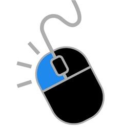 Clic button mouse vector