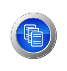 documents button vector image