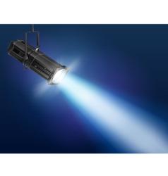 Floodlight vector image