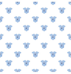 Infant bodysuit pattern vector