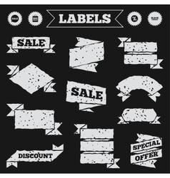Sale speech bubble icon Discount star symbol vector image vector image