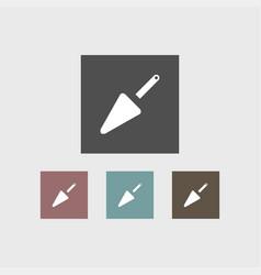 spatula icon simple vector image vector image