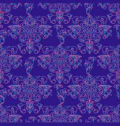 Seamless patterns russian motives of northern vector