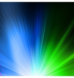 Abstract background in green blue tones eps 10 vector