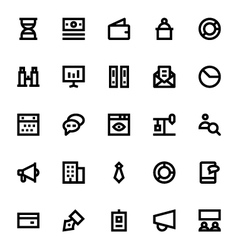 Market and economics icons 2 vector