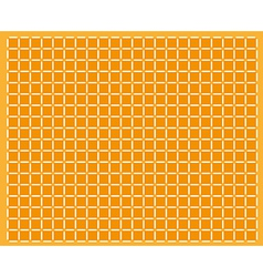 abstract orange background with squares vector image vector image