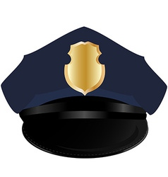 Police hat vector