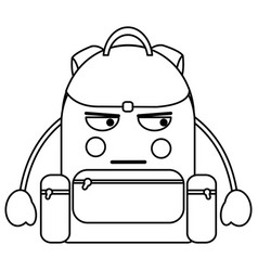 School supplies kawaii icon image vector