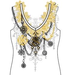 Stock t shirt design03 vector