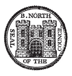 The seal of bridgenorth a parliamentary and vector