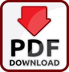 PDF download vector image