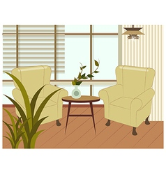 Home Interior Background vector image