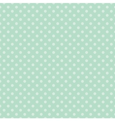 Tile mint green pattern or seamless background vector image