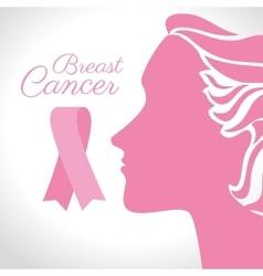 Breast cancer campaign vector