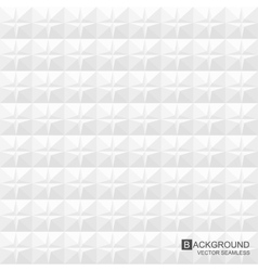 White texture geometric pattern - seamless vector