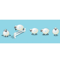 Counting sheep queue vector
