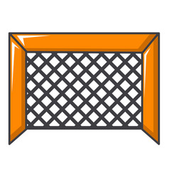 Hockey gate icon cartoon style vector