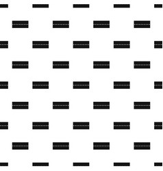 straight road pattern vector image
