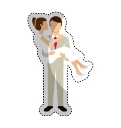 Couple of newlyweds character vector