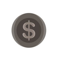 dollar sign icon money symbol finance currency vector image