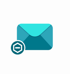 Email letter mail message remove send subtract vector