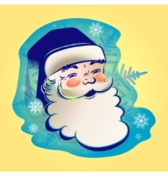 figure of Santa Claus vector image vector image
