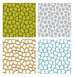 Jackfruit texture and seamless stone pattern vector