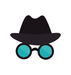 Spy thief crime vector