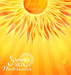 Bright sunny background vector