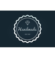 Vintage old style logo icon template vector