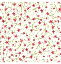 Classic seamless flower texture vector