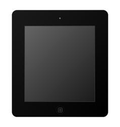 Black Tablet vector image