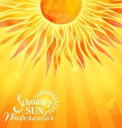 Bright sunny background vector