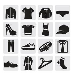Clothes icon vector