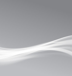 Modern bright glow swoosh transparent line vector