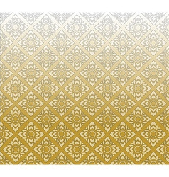 Thai texture vector image vector image
