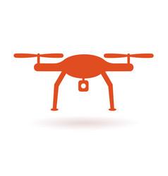 wifi drone icon vector image vector image