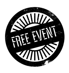 Free event stamp vector